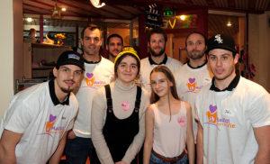 Visite du Service Pédiatrie du CHU de Rouen (un maillot pour la vie)