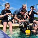 Les Dragons s'initient à la plongée lors de l'Armada 2019 !