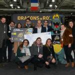 Lancement de la carte bancaire aux couleurs des Dragons de Rouen