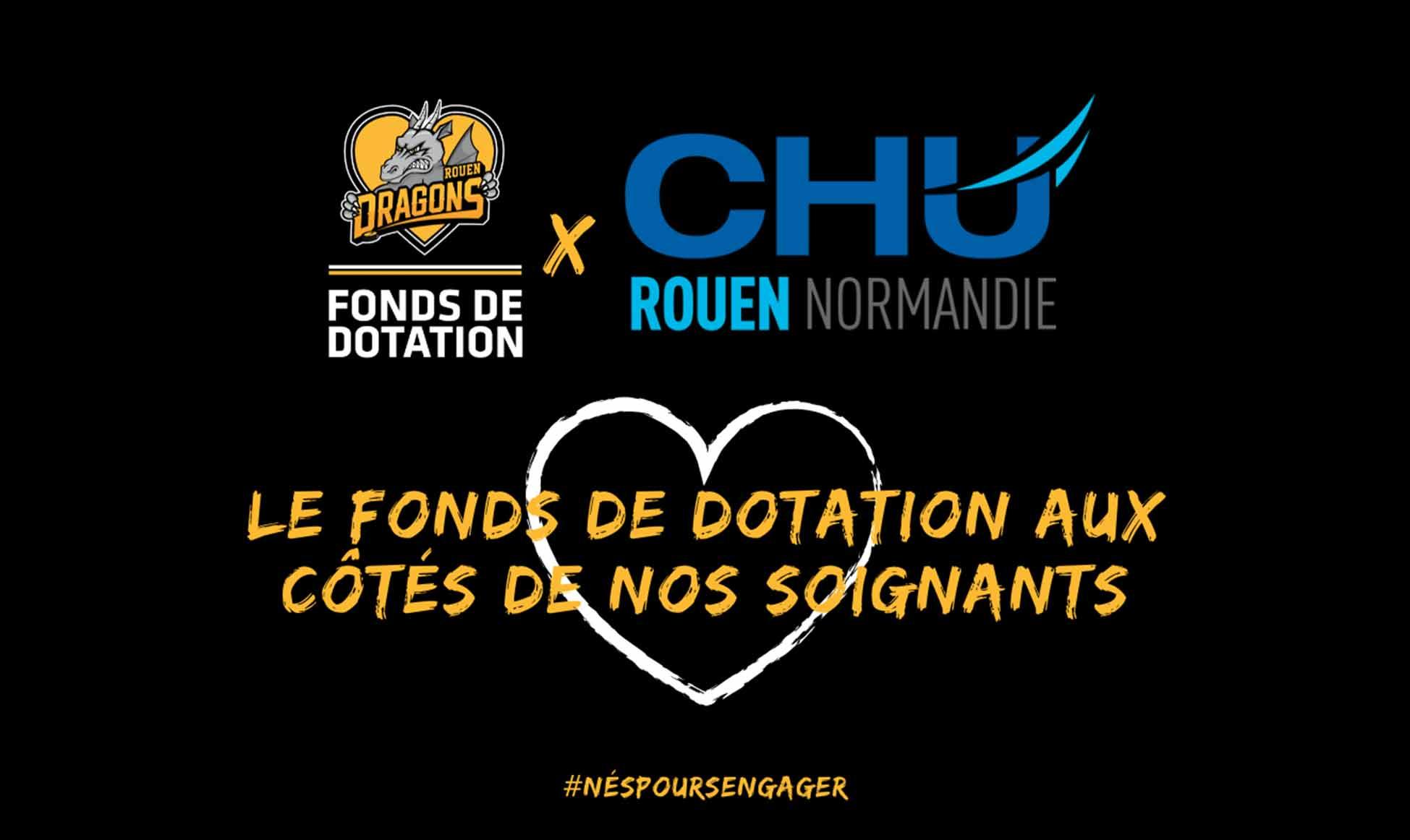 Nous soutenons le CHU de Rouen